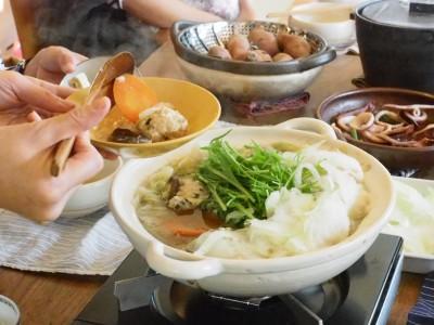 目からウロコの土鍋講座(初級)+家族みんなで愉しむ昆布だし鍋