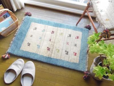 自然素材と暮らす「ギャッベ・キリムとペルシャ絨毯フェア」
